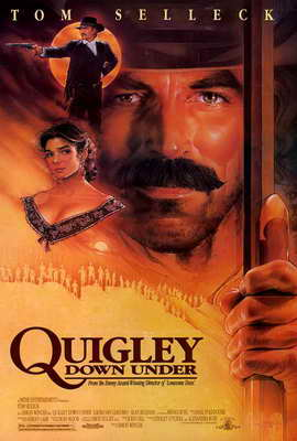 Quigley Down Under - 27 x 40 Movie Poster - Style B