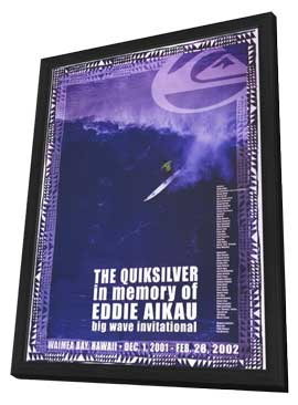 Quiksilver Big Wave Invitational - 11 x 17 Movie Poster - Style A - in Deluxe Wood Frame