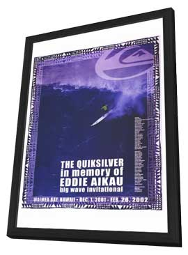 Quiksilver Big Wave Invitational - 27 x 40 Movie Poster - Style A - in Deluxe Wood Frame