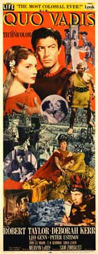 Quo Vadis - 14 x 36 Movie Poster - Insert Style A