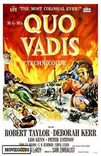 Quo Vadis - 43 x 62 Movie Poster - Bus Shelter Style A