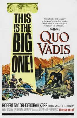 Quo Vadis - 27 x 40 Movie Poster - Style C