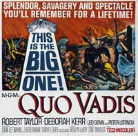 Quo Vadis - 30 x 30 Movie Poster - Style A