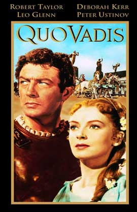 Quo Vadis - 11 x 17 Movie Poster - Style B