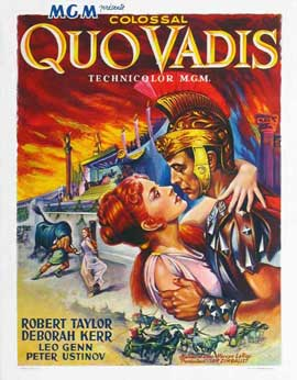 Quo Vadis - 11 x 17 Movie Poster - Belgian Style A