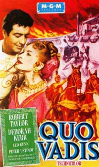 Qvo Vadis - 11 x 17 Movie Poster - Spanish Style A