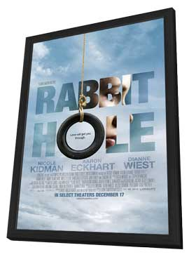 Rabbit Hole - 27 x 40 Movie Poster - Style A - in Deluxe Wood Frame