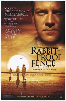 Rabbit Proof Fence - 11 x 17 Movie Poster - Style A