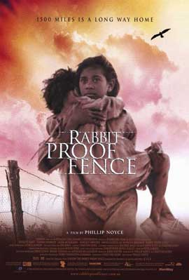 Rabbit Proof Fence - 11 x 17 Movie Poster - Style B