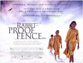 Rabbit Proof Fence - 27 x 40 Movie Poster - Style C