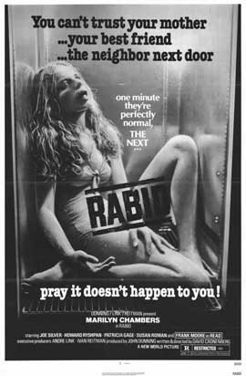 Rabid - 11 x 17 Movie Poster - Style A