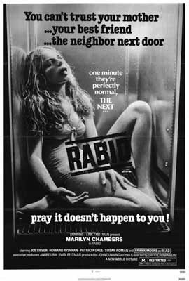 Rabid - 27 x 40 Movie Poster - Style A