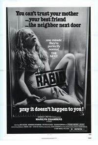 Rabid - 43 x 62 Movie Poster - Bus Shelter Style A