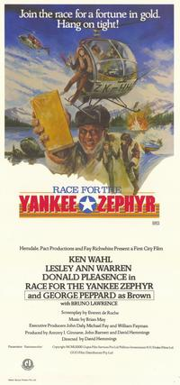 Race for the Yankee Zephyr - 11 x 17 Movie Poster - Style A