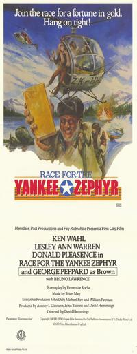 Race for the Yankee Zephyr - 13 x 30 Movie Poster - Australian Style A