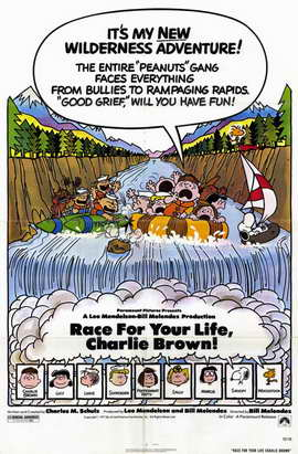 Race For Your Life, Charlie Brown - 11 x 17 Movie Poster - Style A