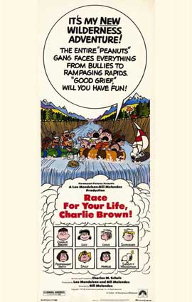 Race For Your Life, Charlie Brown - 11 x 17 Movie Poster - Style B