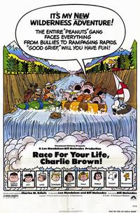 Race For Your Life, Charlie Brown - 11 x 17 Movie Poster - Style A - Museum Wrapped Canvas