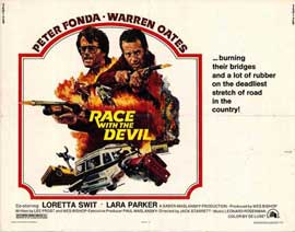 Race with the Devil - 22 x 28 Movie Poster - Half Sheet Style A