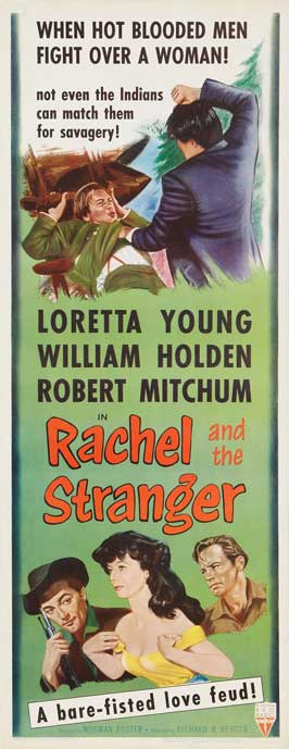 Rachel and the Stranger - 14 x 36 Movie Poster - Insert Style A
