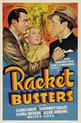 Racket Busters - 11 x 17 Movie Poster - Style E