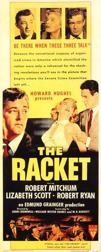 Racket - 14 x 36 Movie Poster - Insert Style A