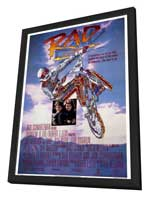 Rad - 11 x 17 Movie Poster - Style A - in Deluxe Wood Frame
