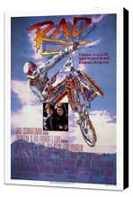 Rad - 27 x 40 Movie Poster - Style A - Museum Wrapped Canvas