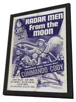 Radar Men from the Moon - 11 x 17 Movie Poster - Style A - in Deluxe Wood Frame