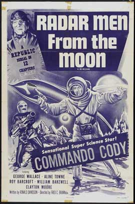 Radar Men from the Moon - 11 x 17 Movie Poster - Style A