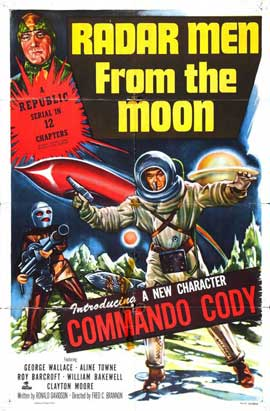 Radar Men from the Moon - 27 x 40 Movie Poster - Style B