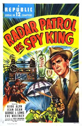 Radar Patrol vs. Spy King - 27 x 40 Movie Poster - Style A