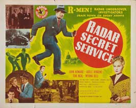 Radar Secret Service - 11 x 14 Movie Poster - Style A