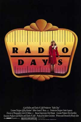 Radio Days - 11 x 17 Movie Poster - Style A