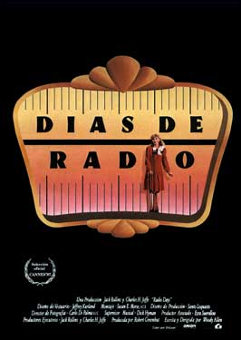 Radio Days - 11 x 17 Movie Poster - Spanish Style A