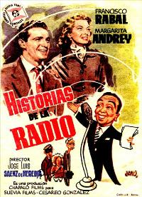 Radio Stories - 11 x 17 Movie Poster - Spanish Style A
