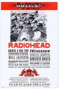 Radiohead - Music Poster - 24 x 36 - Style C