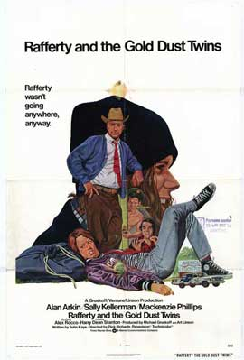 Rafferty & the Gold Dust Twins - 27 x 40 Movie Poster - Style A
