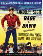 Rage at Dawn - 27 x 40 Movie Poster - UK Style A