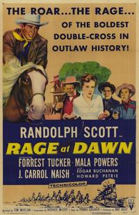 Rage at Dawn - 11 x 17 Movie Poster - Style A