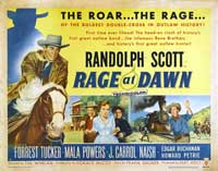 Rage at Dawn - 22 x 28 Movie Poster - Half Sheet Style A