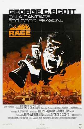Rage - 11 x 17 Movie Poster - Style B