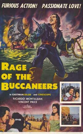 Rage of The Buccaneers - 11 x 17 Movie Poster - Style A