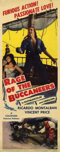 Rage of The Buccaneers - 14 x 36 Movie Poster - Insert Style A