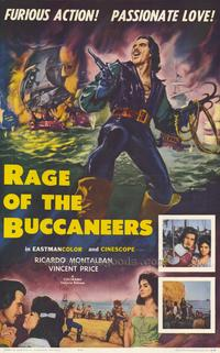 Rage of The Buccaneers - 27 x 40 Movie Poster - Style A