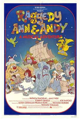 Raggedy Ann and Andy - 27 x 40 Movie Poster - Style A