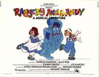 Raggedy Ann and Andy - 22 x 28 Movie Poster - Half Sheet Style A