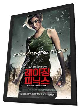 Raging Phoenix - 27 x 40 Movie Poster - Korean Style A - in Deluxe Wood Frame