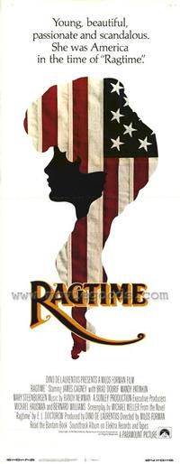 Ragtime - 14 x 36 Movie Poster - Insert Style A