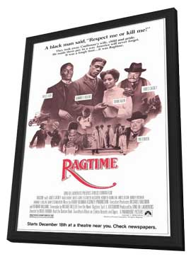Ragtime - 11 x 17 Movie Poster - Style B - in Deluxe Wood Frame